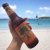 Virgin Islands Tropical Mango Beer!