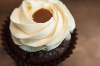 Salted Carmel Cupcake!